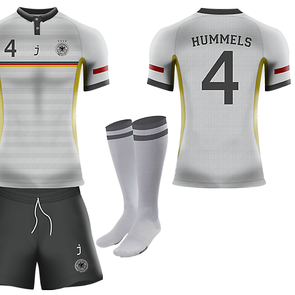 Germany home kit by J-sports