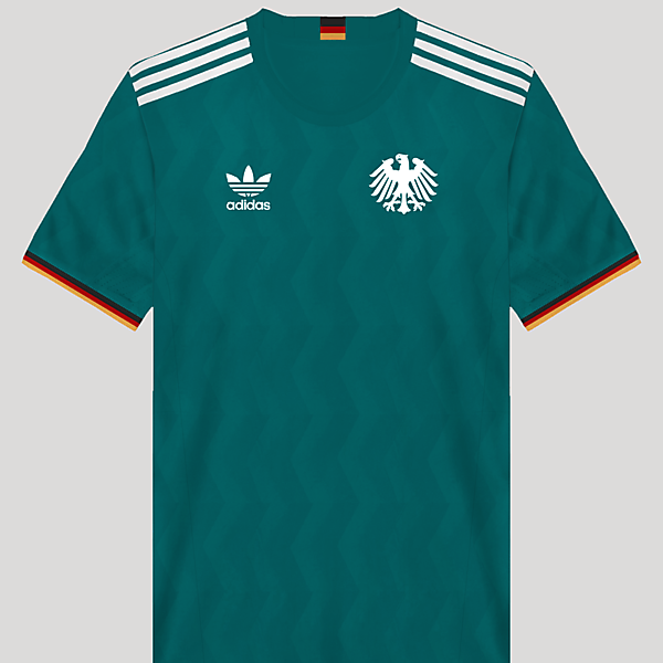 Germany Retro Away Kit Design