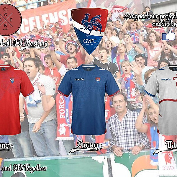 Gil Vicente (Portugal) Macron Concept 15/16