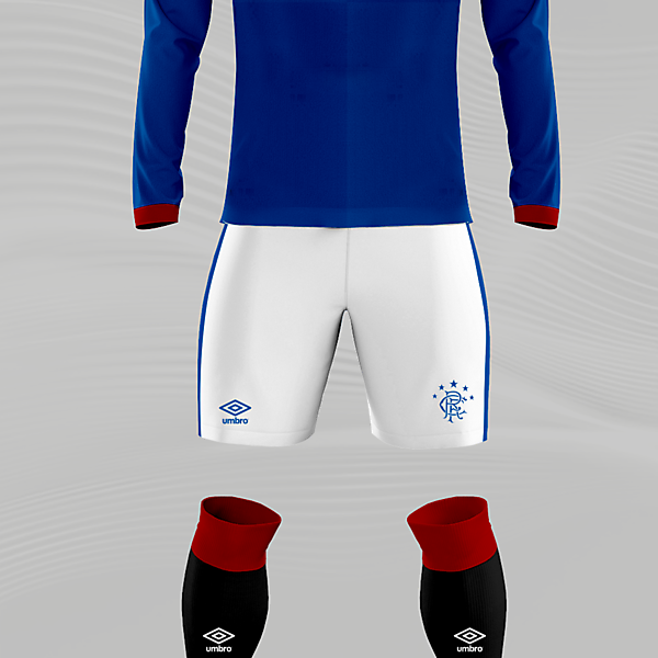 Glasgow Rangers x Umbro Concept Home Kit
