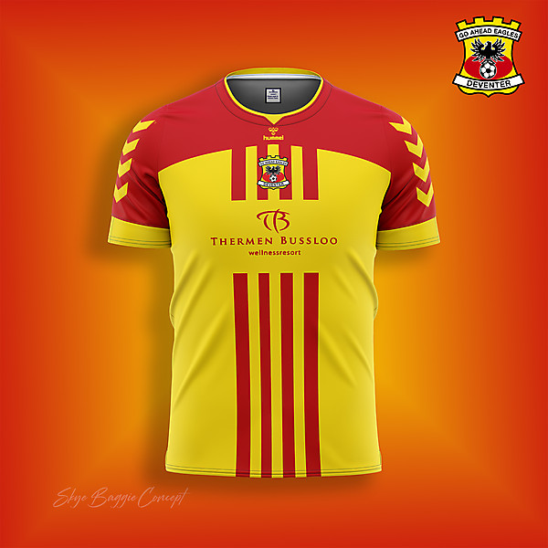 Go Ahead Eagles home concept