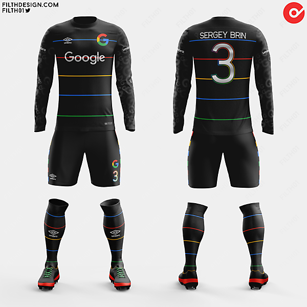Google x Umbro | Away Kit