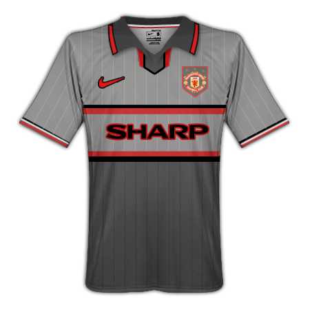 Manchester United Gray Away Revamp