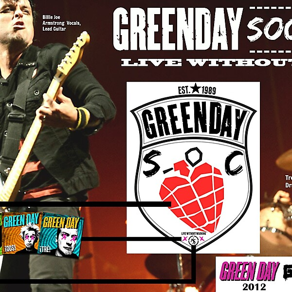 GREEN DAY SC (CREST BREAKDOWN) + ADDITIONAL INFO.