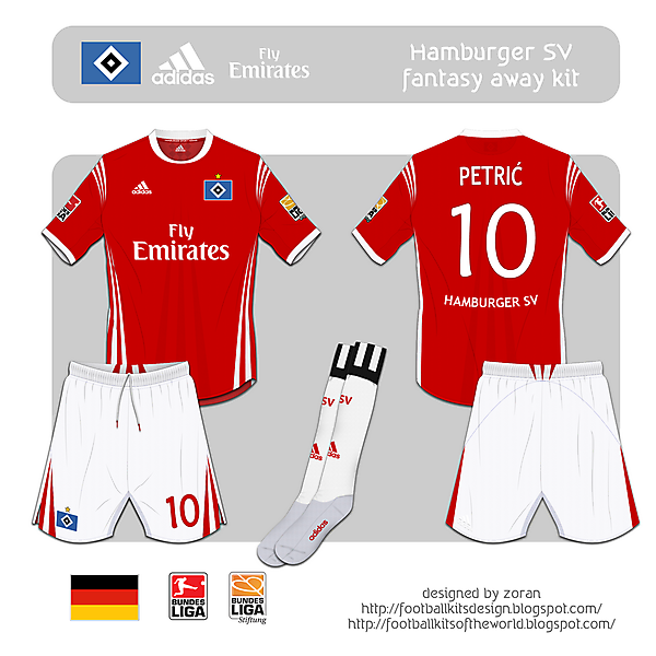 Hamburger SV fantasy away