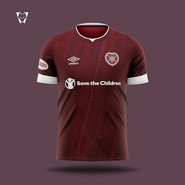 Heart of Midlothian x Umbro - home concept