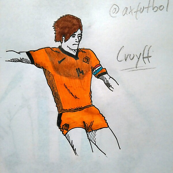 Holland Football Team Home Kit (Cruyff model)