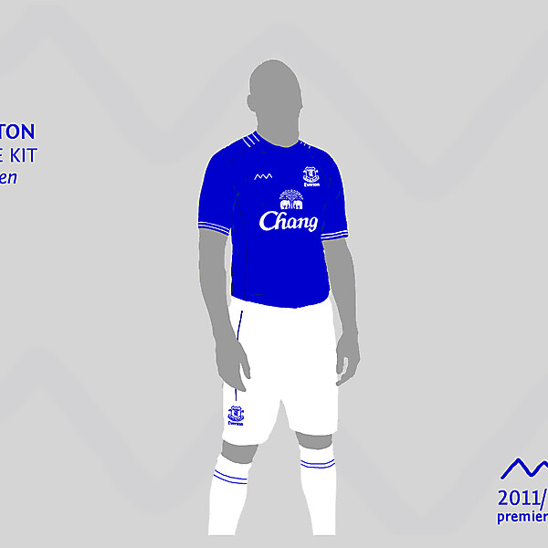 Everton home (2) by green