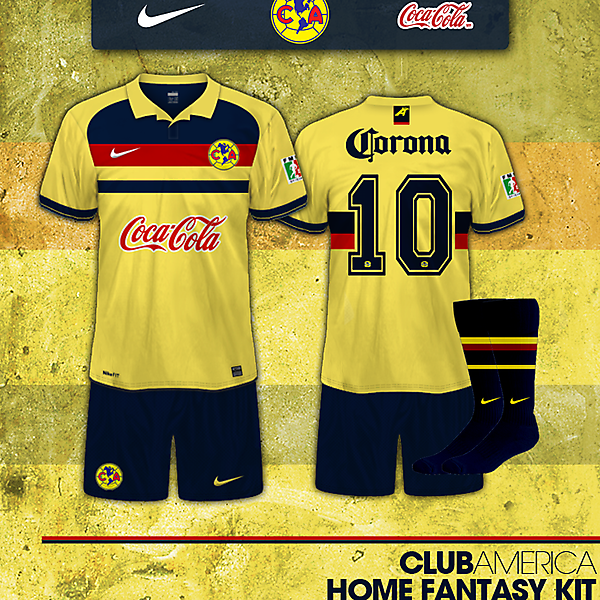 Club America home fantasy kit