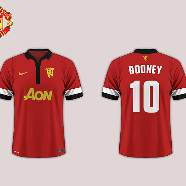 Home Kit // Manchester United