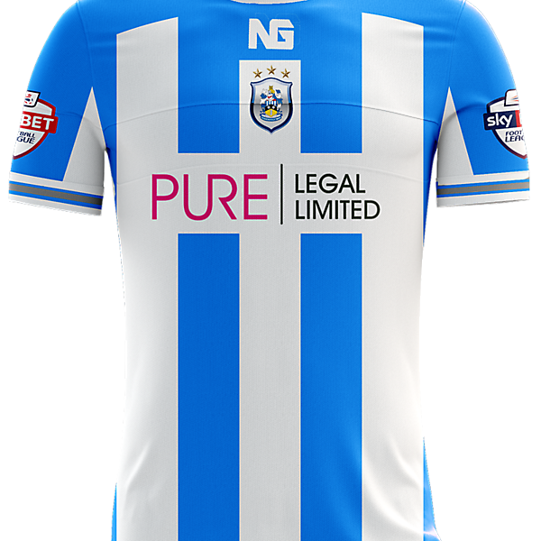 Huddersfield Town Home Jersey concept