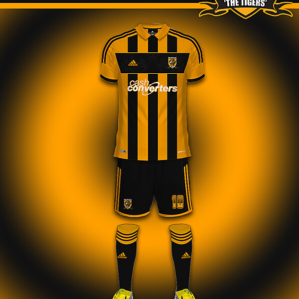 Hull City Adidas Home