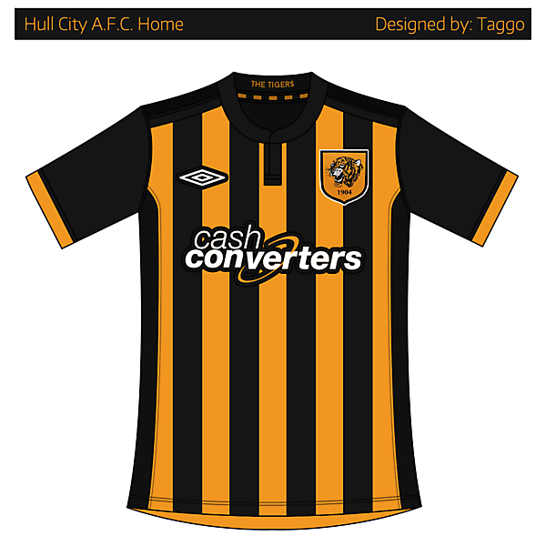 Hull City AFC Home Kit