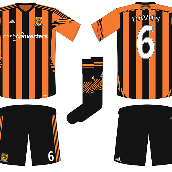 Hull City Fantasy Home Kit