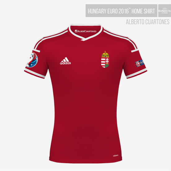 Hungary UEFA EURO 2016™ Home Shirt