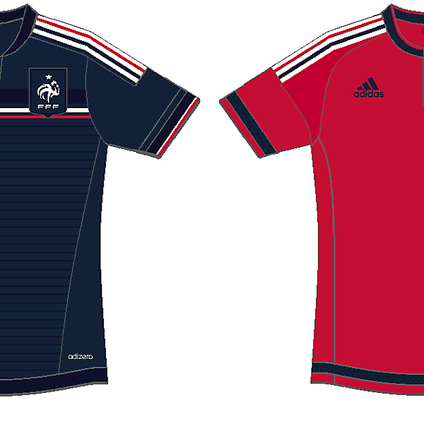 If adidas were still with France