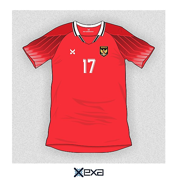 Indonesia - Home Jersey