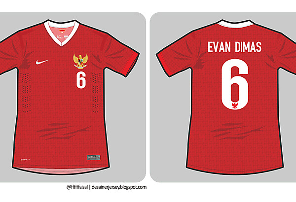 Indonesia 14/15 Nike Home Kit