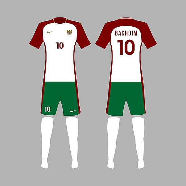 Indonesia 2017 Away Kit Concept Design
