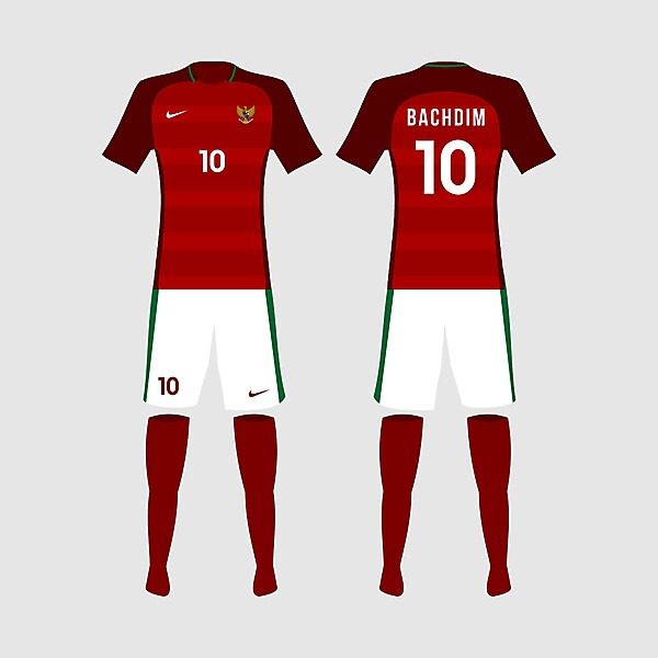 Indonesia 2017 Home Kit Concept Design
