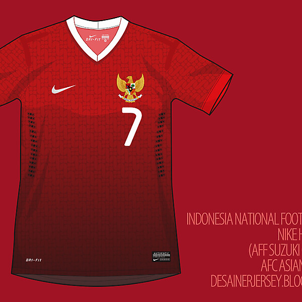 Indonesia Fantasy 14/15 Home Shirt