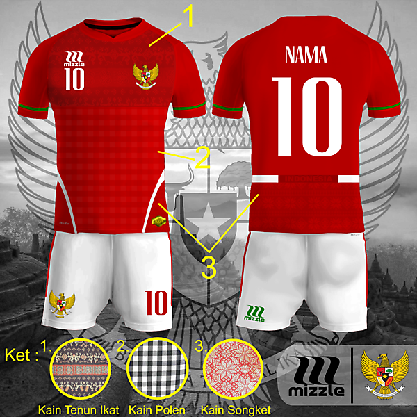 INDONESIA NATIONAL TEAM KITS