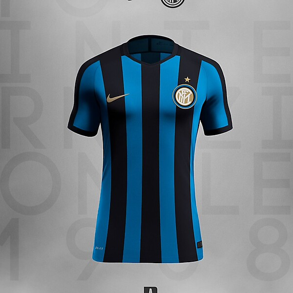 INTER  2017/18 - Vintage Version