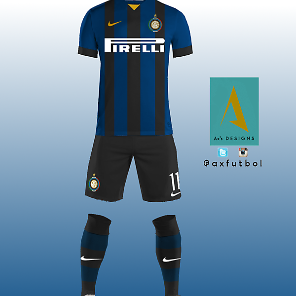 Inter de Milan Home kit