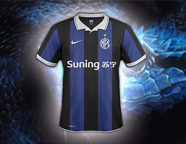 Inter fantasy home jersey