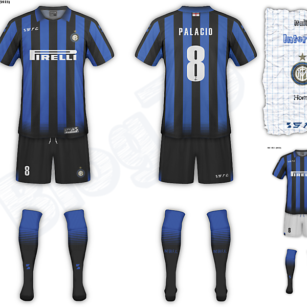 Inter F.C. fantasy home