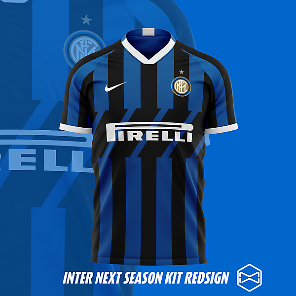 Inter kit 19/20 redesign