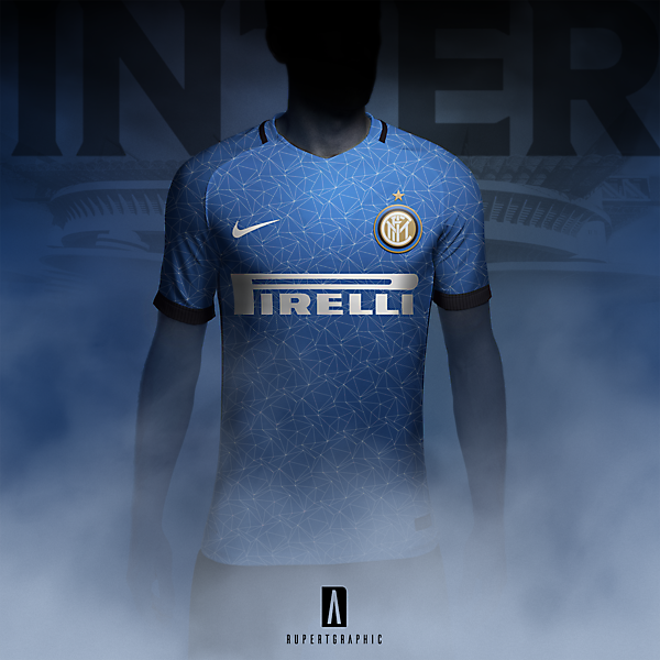 Inter Light blue - 90s tribute