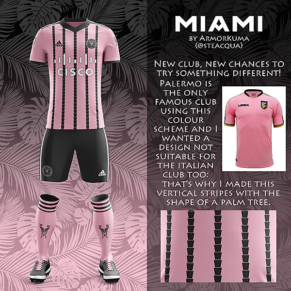 Inter Miami home kit Inaugural Season