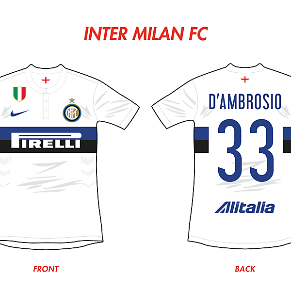 Inter Milan FC Away