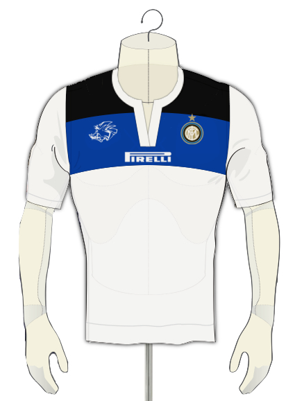 Inter Away Shirt Wild Boar