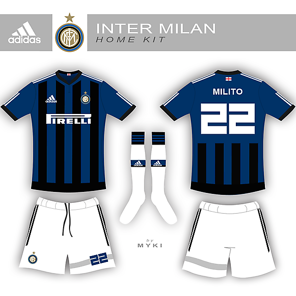 Inter Milan Home Kit #2
