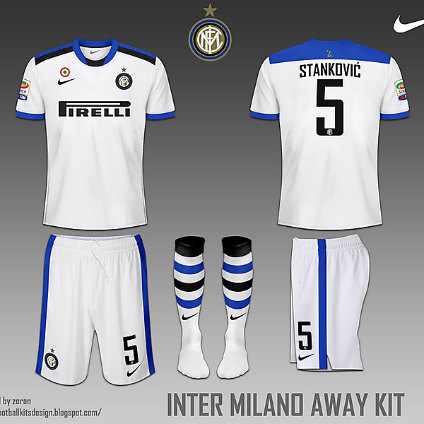 Internazionale Milano fantasy home and away