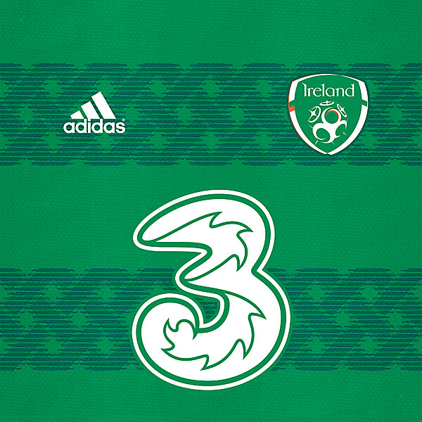 Ireland Adidas shirt design
