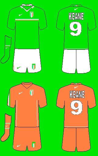 NIke Ireland Home and Away