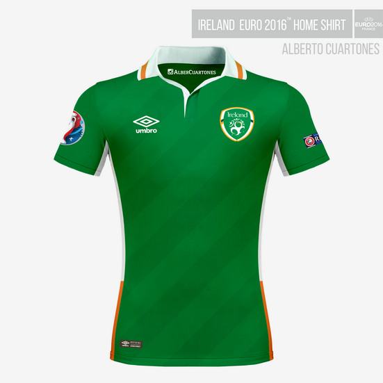 Ireland UEFA EURO 2016™ Home Shirt