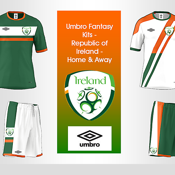 Umbro Fantasy Kit - Republic of Ireland