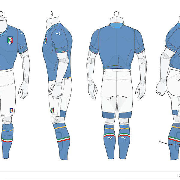 Italy 2010 World Cup Kit