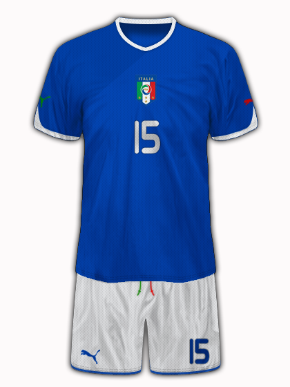 Italy Home Shirt