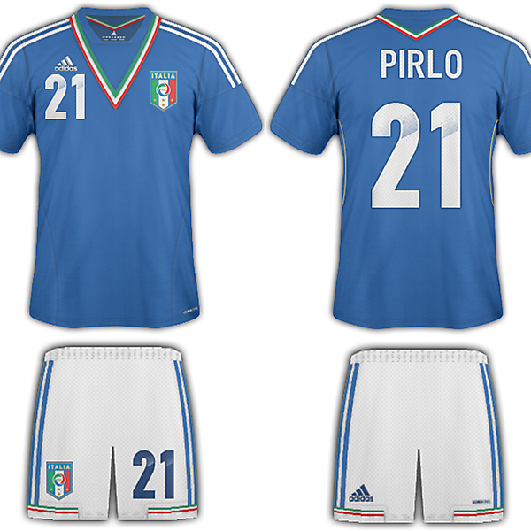 Italy adidas  Confederations Cup kit