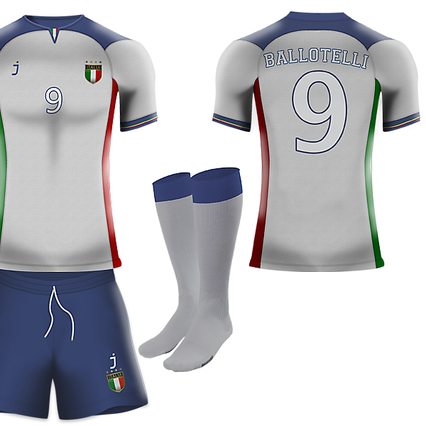 Italy away kit by J-sports