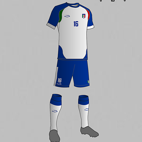 Italy National Football Team Away Kit 2016
