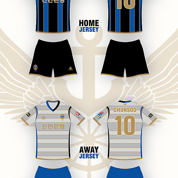 Incheon UNITED_HOME&AWAY JERSEY