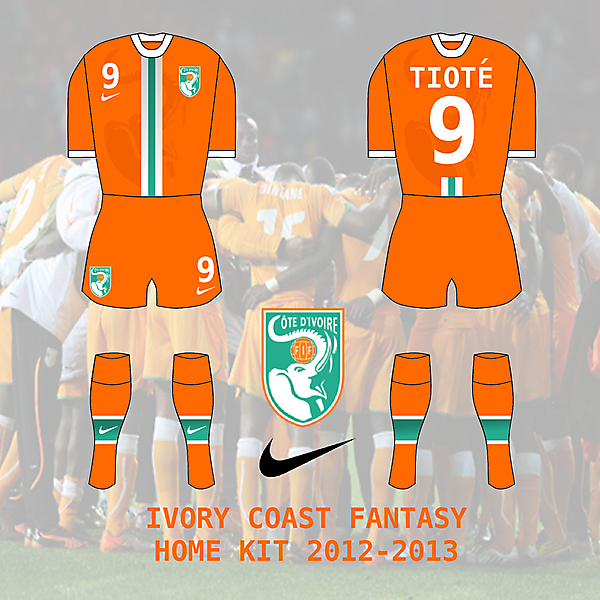 Ivory Coast / Cote d\'Ivoire Home Kit