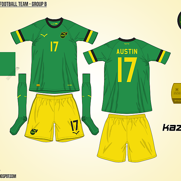 Jamaica Away - Group B, 2015 Copa América