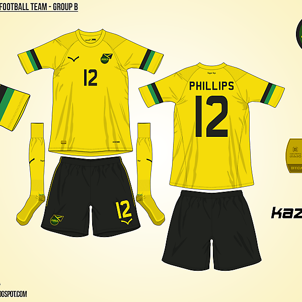 Jamaica Home - Group B, 2015 Copa América